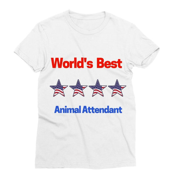 Best Animal Attendant Sublimation T-Shirt Xs Apparel