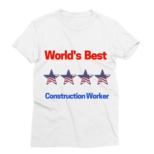 Best Construction Worker Sublimation T-Shirt S Apparel