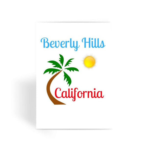 Beverly Hills California Greeting Card 1 Prints