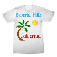 Beverly Hills California Sublimation T-Shirt Xs Apparel