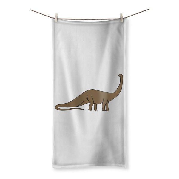 Big Brontosaurio Dinosaur Beach Towel 19.7X39.4 Homeware