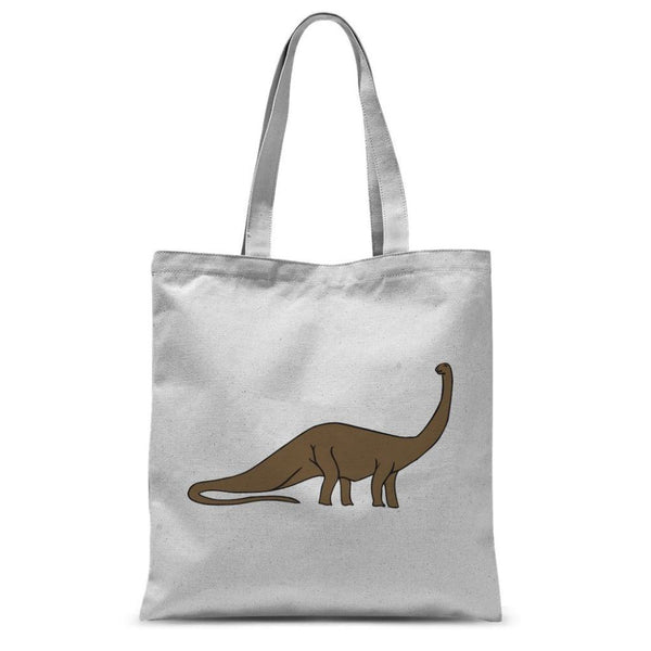 Big Brontosaurio Dinosaur Sublimation Tote Bag 15X16.5 Accessories