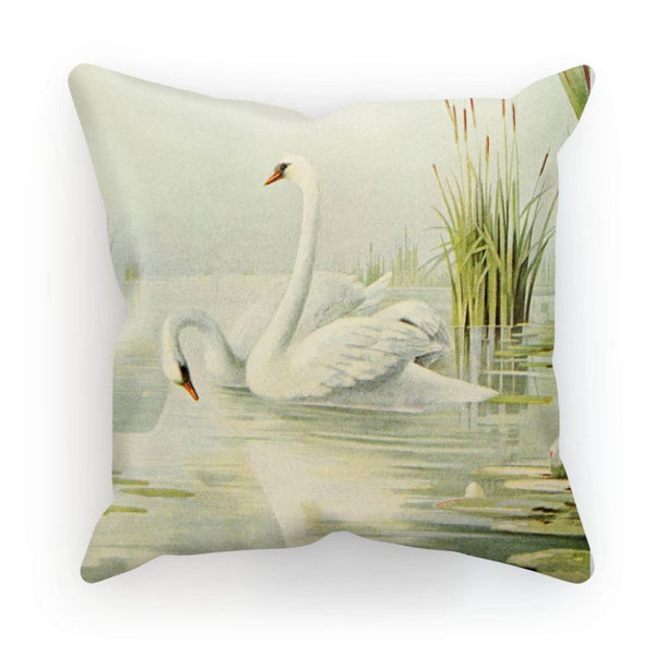 Birds & All Nature 1900 Cushion Linen / 12X12 Homeware