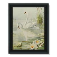 Birds & All Nature 1900 Framed Canvas 24X32 Wall Decor