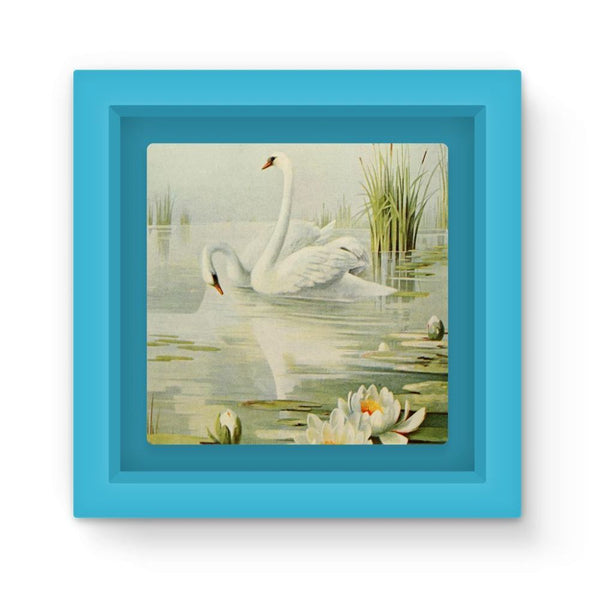 Birds & All Nature 1900 Magnet Frame Light Blue Homeware