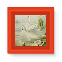 Birds & All Nature 1900 Magnet Frame Red Homeware