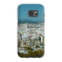 Birdseye View Of Urban Area Phone Case Galaxy S7 Edge / Tough Gloss & Tablet Cases