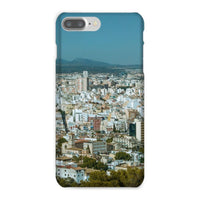 Birdseye View Of Urban Area Phone Case Iphone 8 Plus / Snap Gloss & Tablet Cases