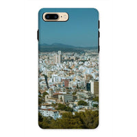 Birdseye View Of Urban Area Phone Case Iphone 8 Plus / Tough Gloss & Tablet Cases