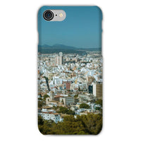 Birdseye View Of Urban Area Phone Case Iphone 8 / Snap Gloss & Tablet Cases
