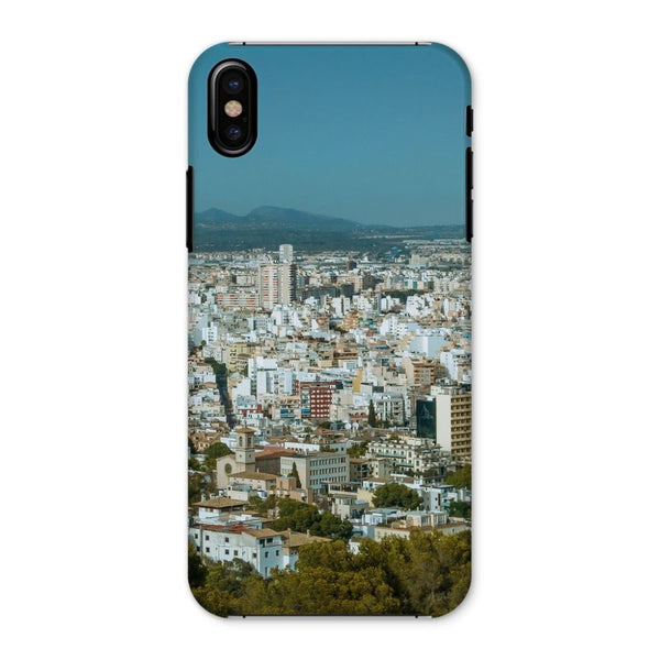 Birdseye View Of Urban Area Phone Case Iphone X / Snap Gloss & Tablet Cases