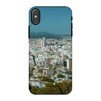 Birdseye View Of Urban Area Phone Case Iphone X / Tough Gloss & Tablet Cases