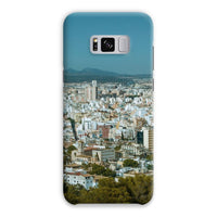 Birdseye View Of Urban Area Phone Case Samsung S8 Plus / Snap Gloss & Tablet Cases