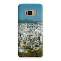 Birdseye View Of Urban Area Phone Case Samsung S8 / Snap Gloss & Tablet Cases