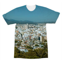 Birdseye View Of Urban Area Sublimation T-Shirt Xs Apparel