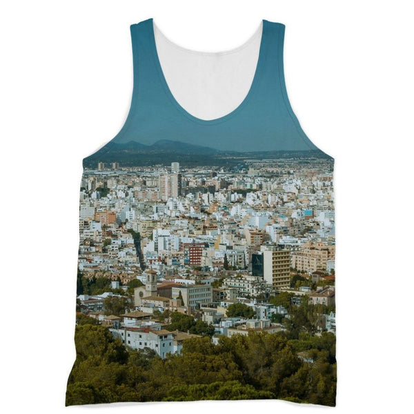 Birdseye View Of Urban Area Sublimation Vest Xs Apparel
