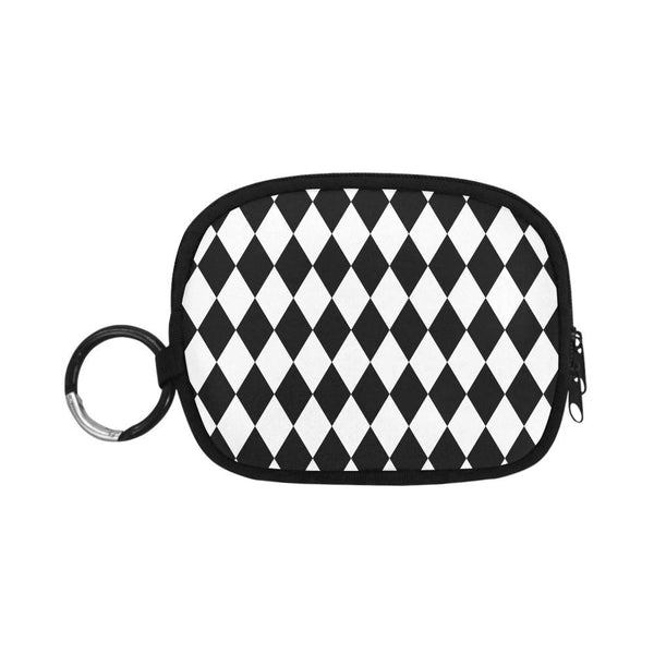 Black And White Licorice Pattern Coin Purse (1605)