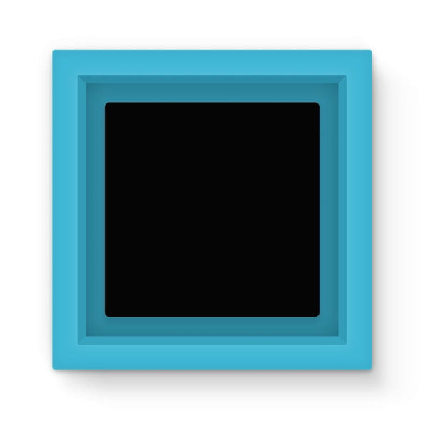 Black Color Magnet Frame Light Blue Homeware