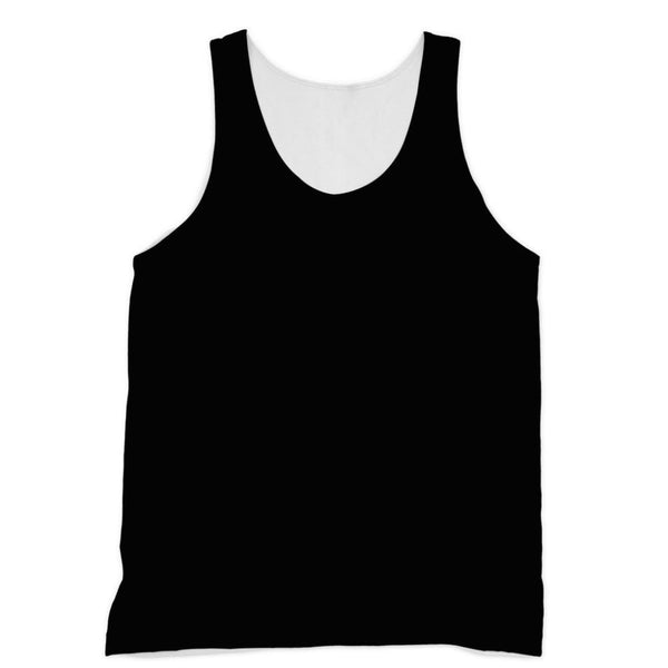 Black Color Sublimation Vest Xs Apparel
