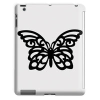 Black Swirl Butterfly Tablet Case Ipad 2 3 4 Phone & Cases