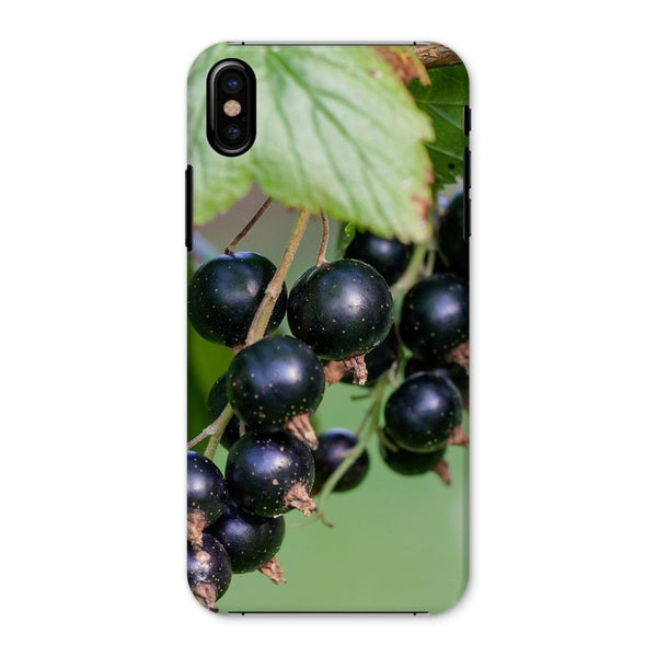 Blackcurrants Pattern Phone Case Iphone X / Snap Gloss & Tablet Cases
