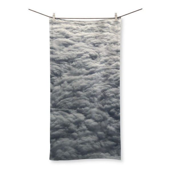 Blanket Of Fluffy Clouds Beach Towel 19.7X39.4 Homeware