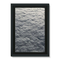 Blanket Of Fluffy Clouds Framed Eco-Canvas 24X36 Wall Decor