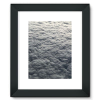 Blanket Of Fluffy Clouds Framed Fine Art Print 12X16 / Black Wall Decor