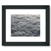 Blanket Of Fluffy Clouds Framed Fine Art Print 16X12 / Black Wall Decor
