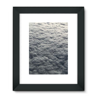 Blanket Of Fluffy Clouds Framed Fine Art Print 18X24 / Black Wall Decor