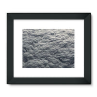 Blanket Of Fluffy Clouds Framed Fine Art Print 24X18 / Black Wall Decor