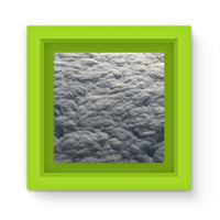 Blanket Of Fluffy Clouds Magnet Frame Green Homeware