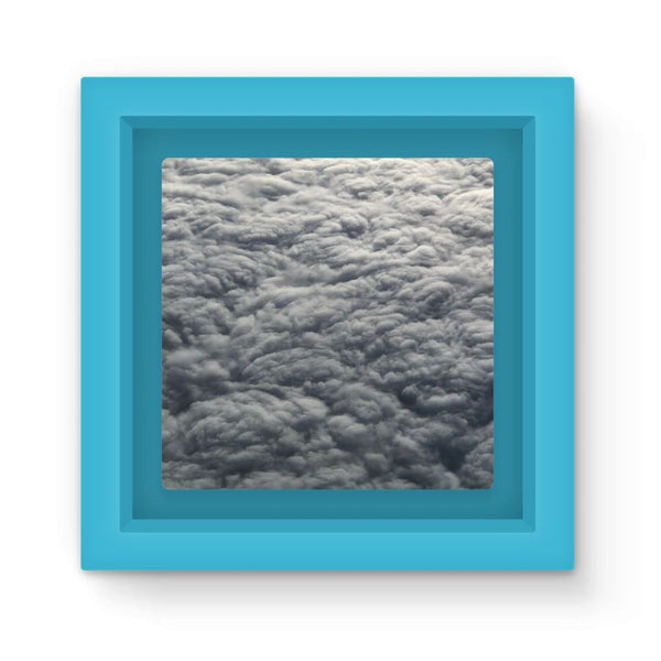 Blanket Of Fluffy Clouds Magnet Frame Light Blue Homeware