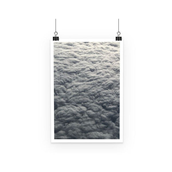 Blanket Of Fluffy Clouds Poster A3 Wall Decor