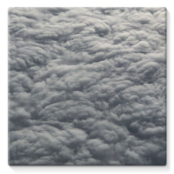 Blanket Of Fluffy Clouds Stretched Eco-Canvas 10X10 Wall Decor