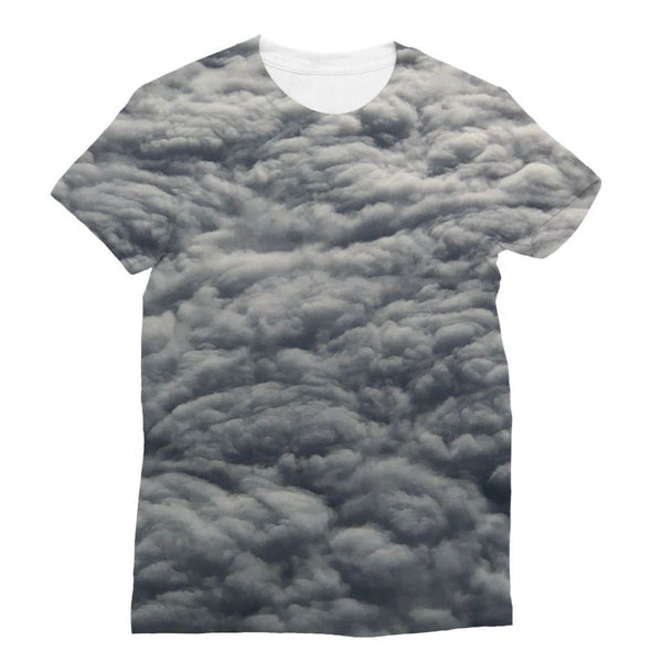 Blanket Of Fluffy Clouds Sublimation T-Shirt Xs Apparel