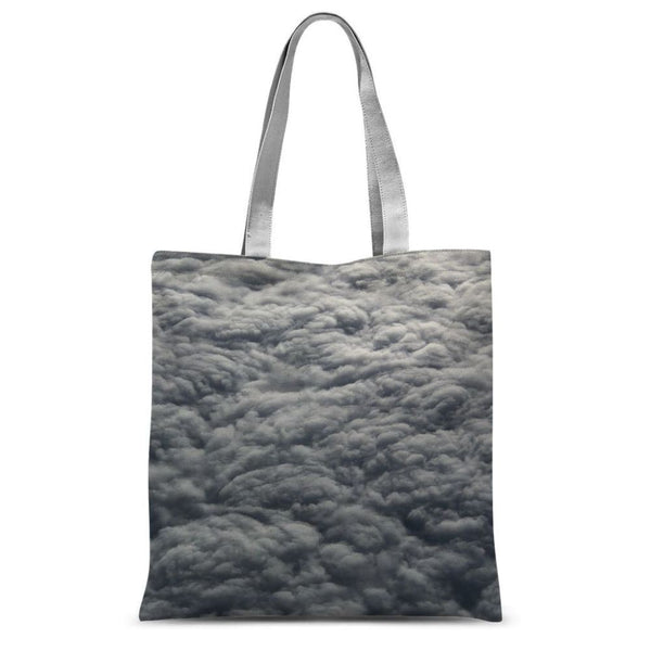 Blanket Of Fluffy Clouds Sublimation Tote Bag 15X16.5 Accessories
