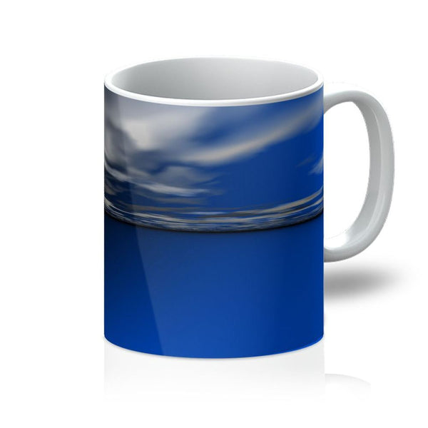 Blue Calm Ocean Water Mug 11Oz Homeware
