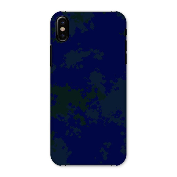 Blue Camouflage Pattern Phone Case Iphone X / Snap Gloss & Tablet Cases