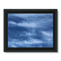 Blue Clouds Framed Canvas 16X12 Wall Decor