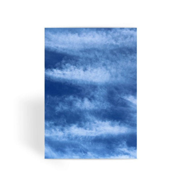 Blue Clouds Greeting Card 1 Prints