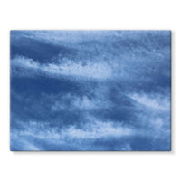 Blue Clouds Stretched Canvas 16X12 Wall Decor