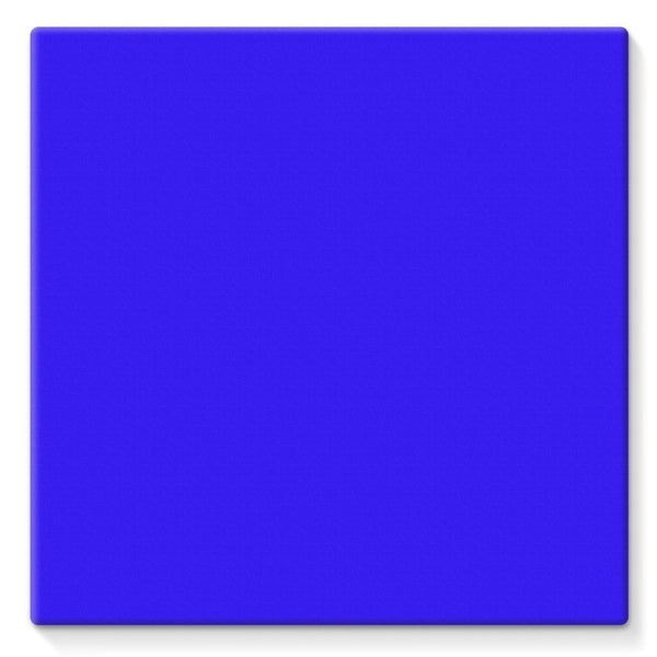 Blue Color Stretched Canvas 10X10 Wall Decor