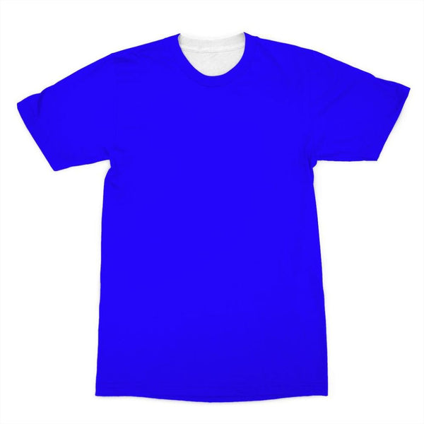 Blue Color Sublimation T-Shirt Xs Apparel