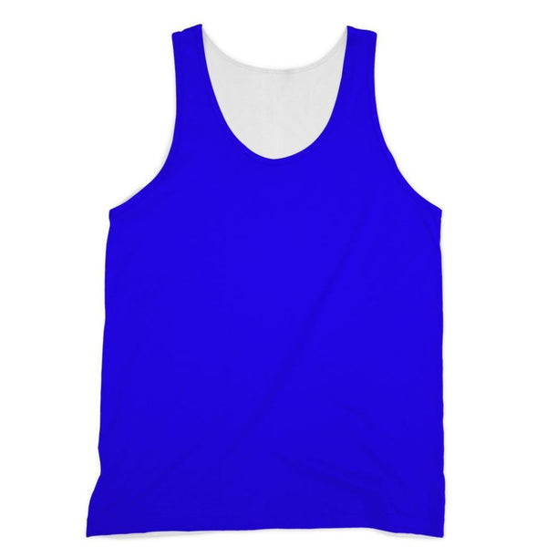 Blue Color Sublimation Vest Xs Apparel