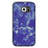 Blue Crystal Shape Pattern Phone Case Galaxy S6 / Tough Gloss & Tablet Cases