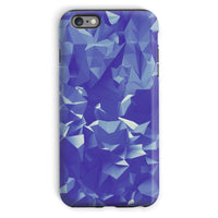 Blue Crystal Shape Pattern Phone Case Iphone 6 Plus / Tough Gloss & Tablet Cases