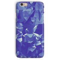 Blue Crystal Shape Pattern Phone Case Iphone 6 / Snap Gloss & Tablet Cases
