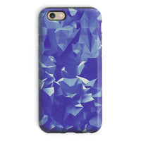 Blue Crystal Shape Pattern Phone Case Iphone 6 / Tough Gloss & Tablet Cases