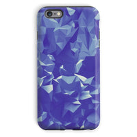 Blue Crystal Shape Pattern Phone Case Iphone 6S Plus / Tough Gloss & Tablet Cases